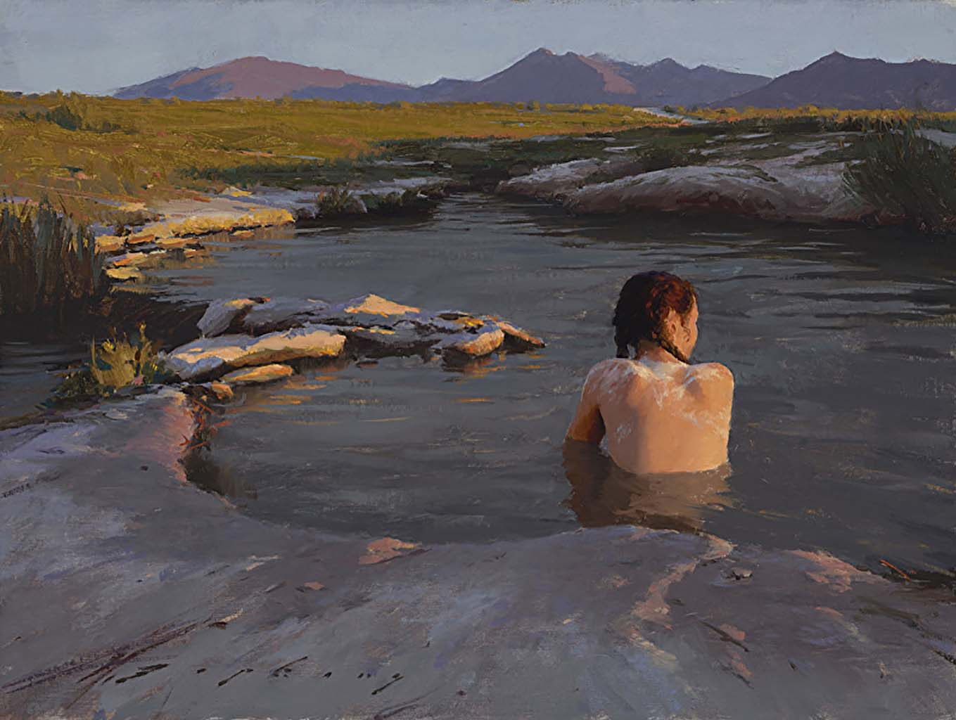 "Джереми Липкинг (Jeremy Lipking) ""The Last Light Eastern Sierra"""
