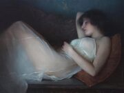 "Джереми Липкинг (Jeremy Lipking) ""Reclining in White"""