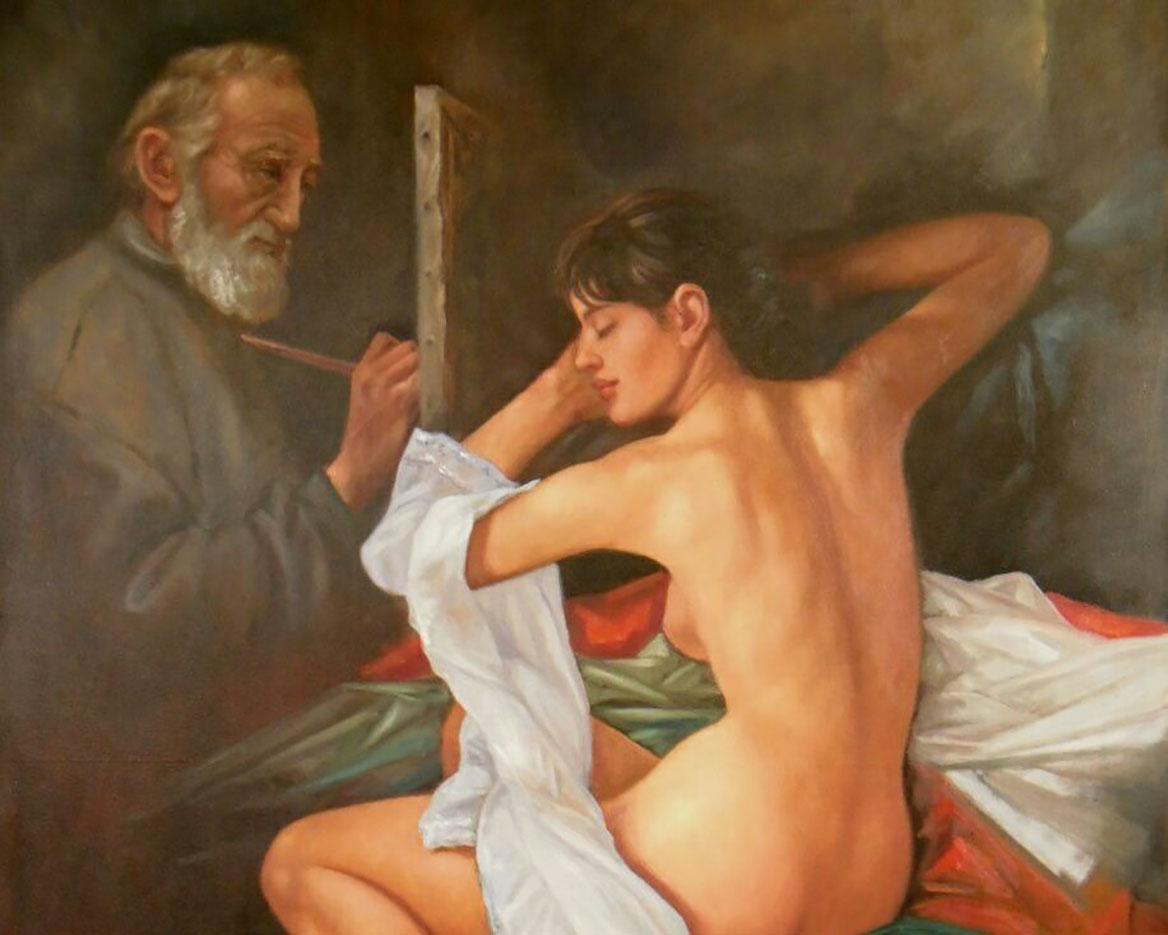 """Хосе Алонсо Лайза Корралес (Jose Alonso Loaiza Corrales) """"El viejo Pintor"""""""
