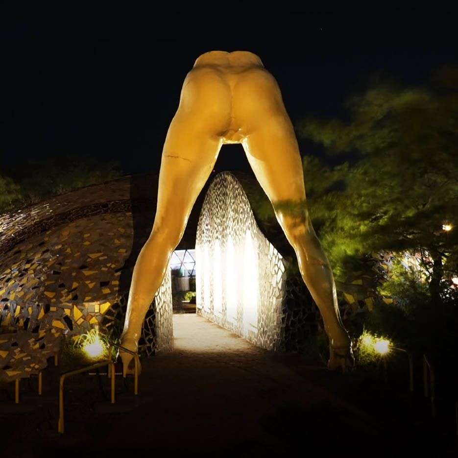 "Erotic sculpture's Park, Jeju Island, South Korea ""Love Land - 13"""
