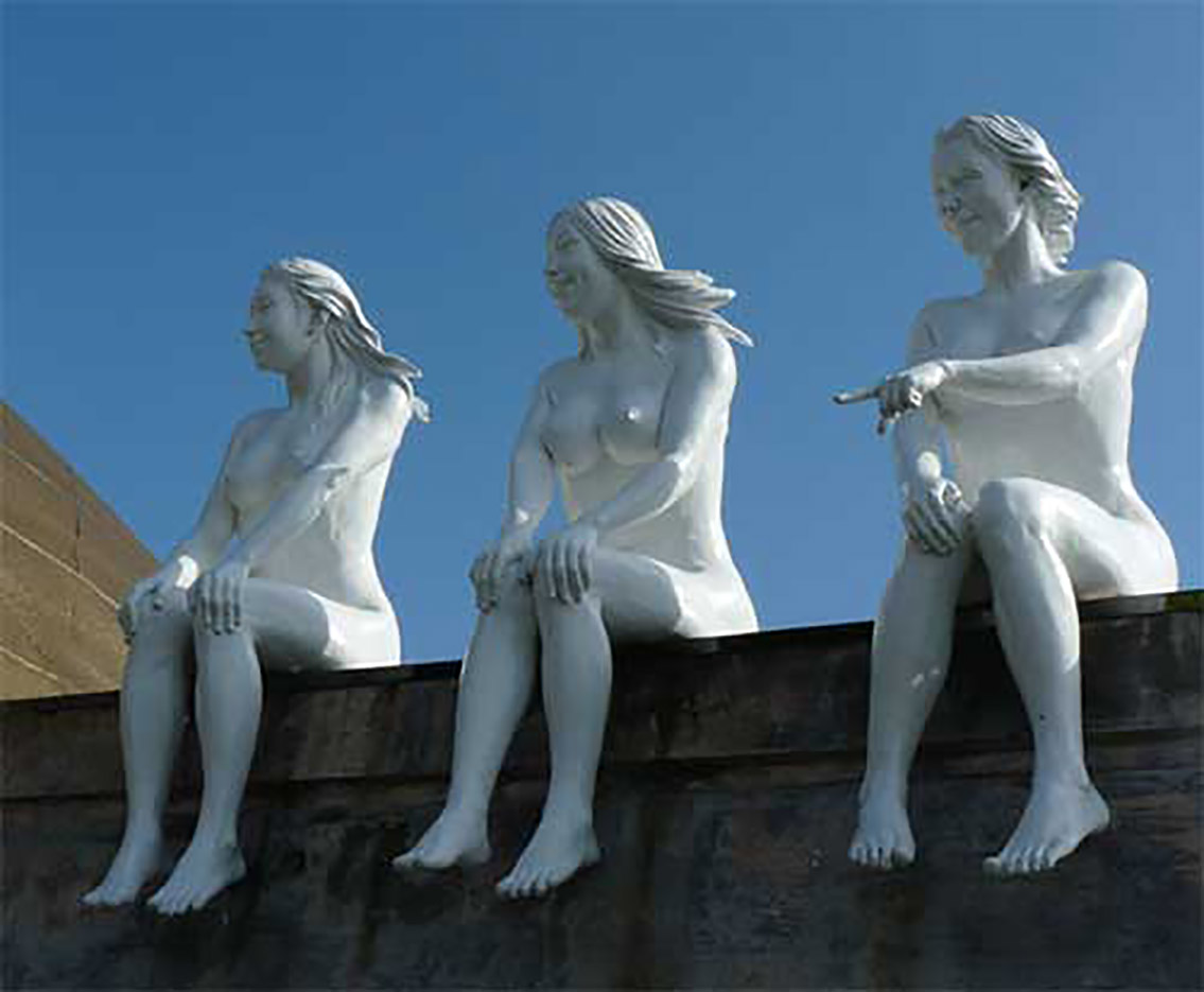 "Erotic sculpture's Park, Jeju Island, South Korea ""Love Land - 17"""