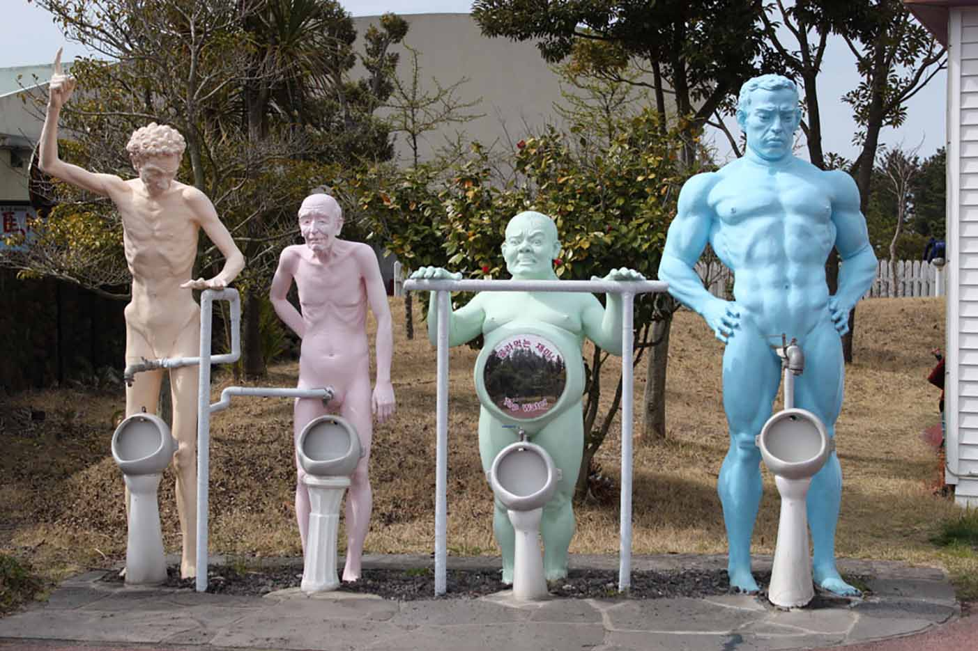 "Erotic sculpture's Park, Jeju Island, South Korea ""Love Land - 22"""