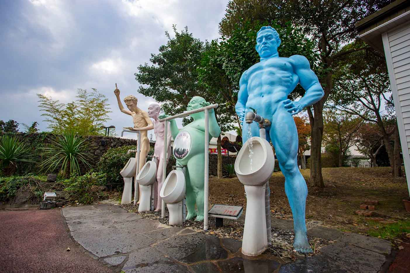 "Erotic sculpture's Park, Jeju Island, South Korea ""Love Land - 23"""