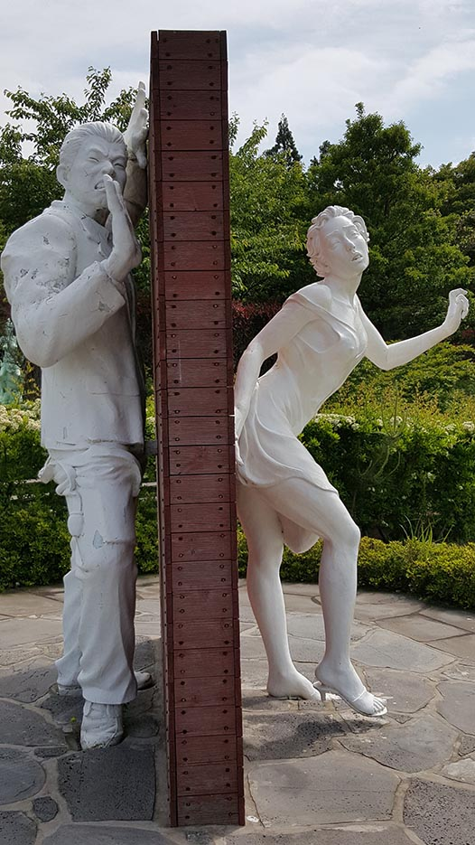 "Erotic sculpture's Park, Jeju Island, South Korea ""Love Land - 25"""