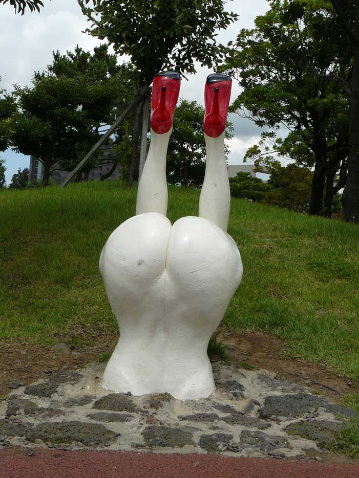 "Erotic sculpture's Park, Jeju Island, South Korea ""Love Land - 31"""