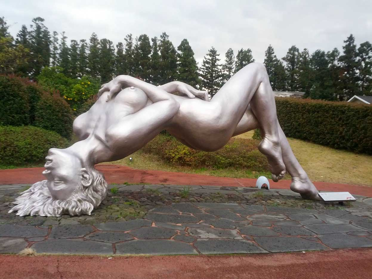 "Erotic sculpture's Park, Jeju Island, South Korea ""Love Land - 32"""