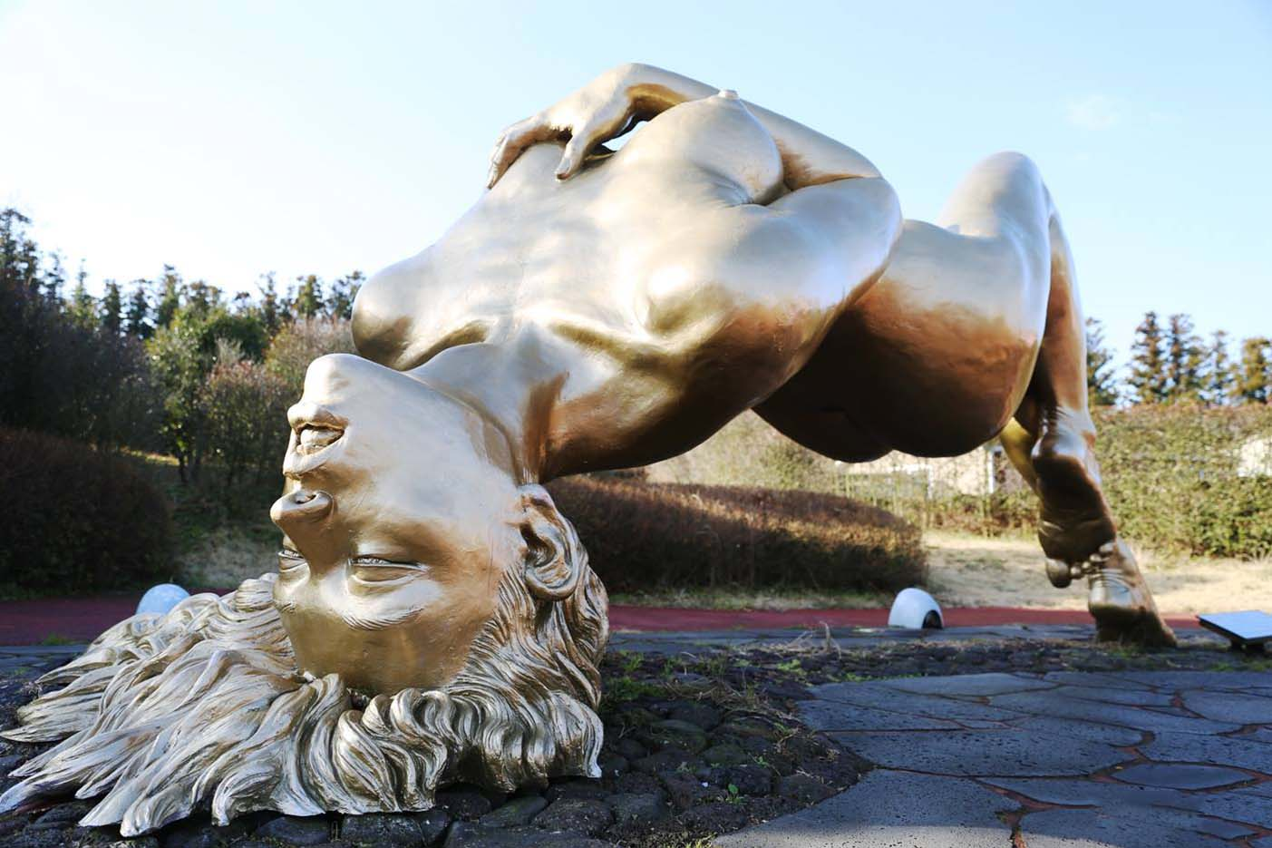 "Erotic sculpture's Park, Jeju Island, South Korea ""Love Land - 33"""