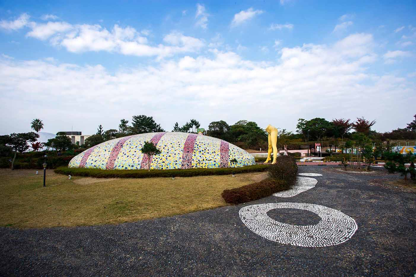 "Erotic sculpture's Park, Jeju Island, South Korea ""Love Land - 3"""