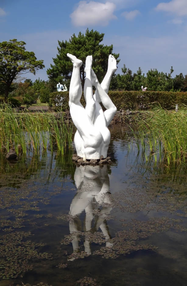"Erotic sculpture's Park, Jeju Island, South Korea ""Love Land - 47"""