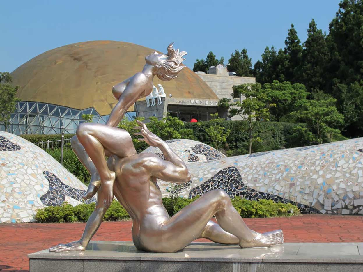 "Erotic sculpture's Park, Jeju Island, South Korea ""Love Land - 52"""