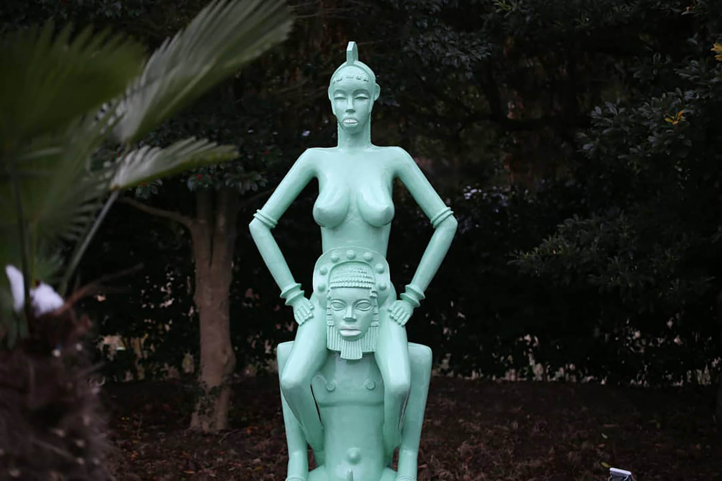 "Erotic sculpture's Park, Jeju Island, South Korea ""Love Land - 55"""