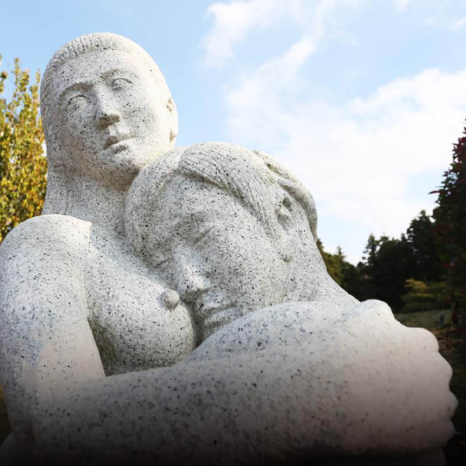 "Erotic sculpture's Park, Jeju Island, South Korea ""Love Land - 58"""