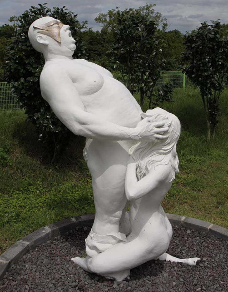 "Erotic sculpture's Park, Jeju Island, South Korea ""Love Land - 60"""