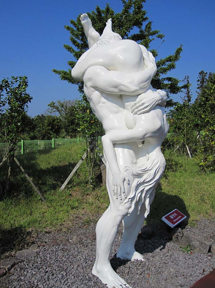 "Erotic sculpture's Park, Jeju Island, South Korea ""Love Land - 61"""