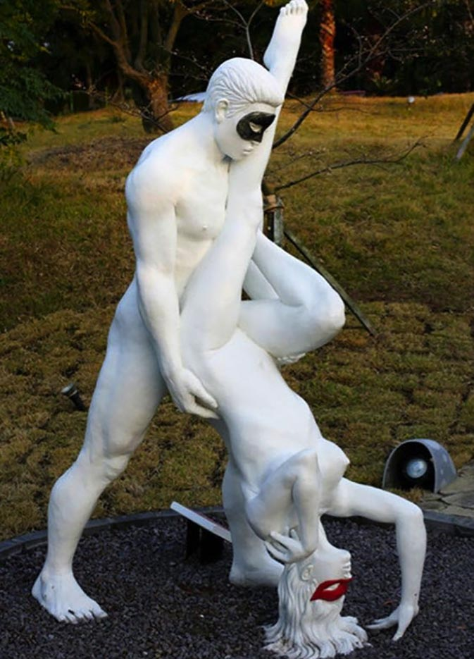 "Erotic sculpture's Park, Jeju Island, South Korea ""Love Land - 62"""
