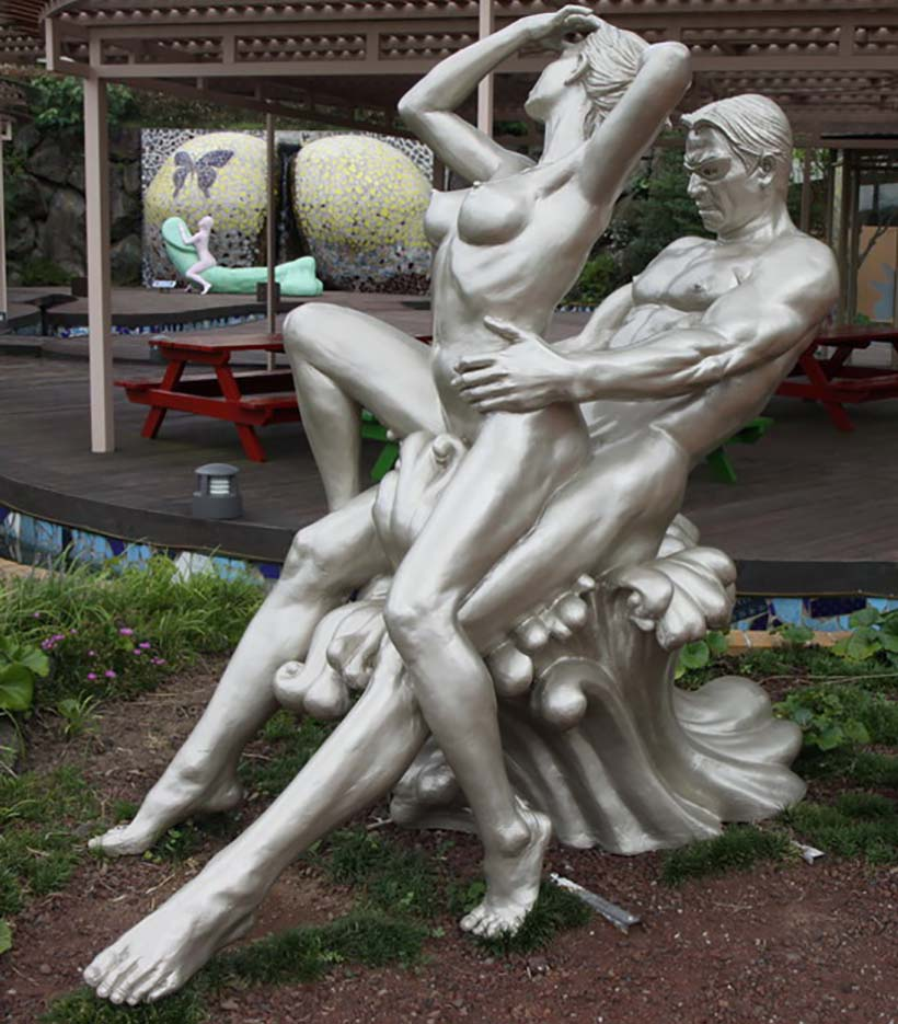 "Erotic sculpture's Park, Jeju Island, South Korea ""Love Land - 64"""