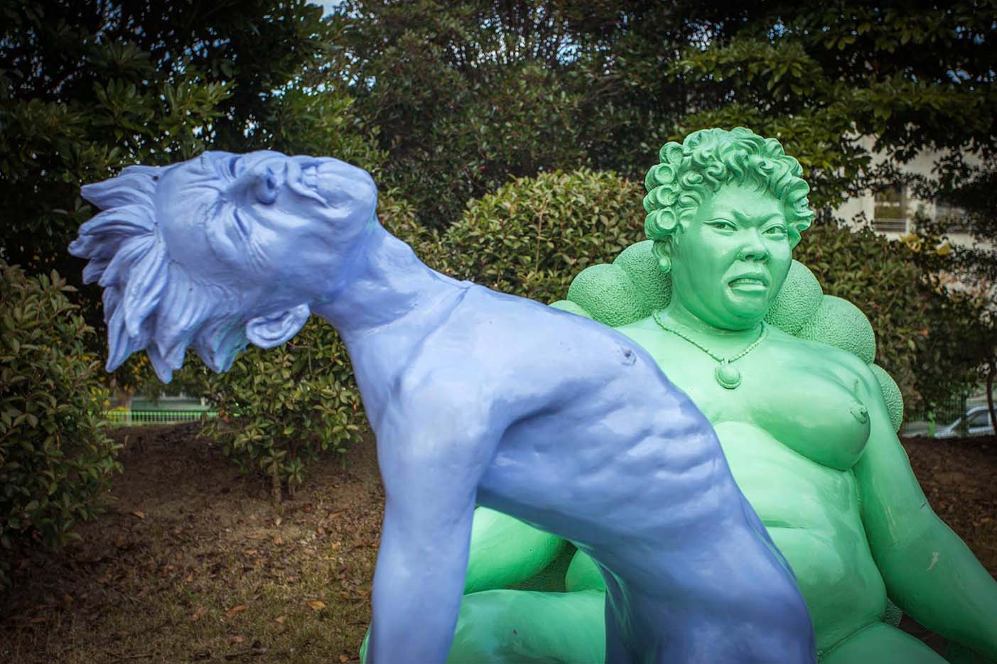"Erotic sculpture's Park, Jeju Island, South Korea ""Love Land - 71"""