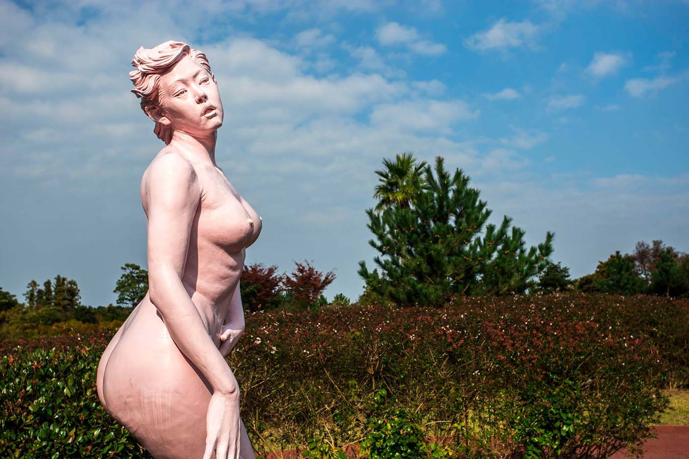 "Erotic sculpture's Park, Jeju Island, South Korea ""Love Land - 76"""