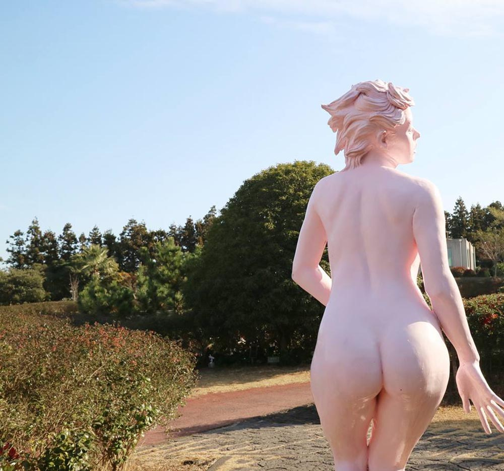 "Erotic sculpture's Park, Jeju Island, South Korea ""Love Land - 77"""