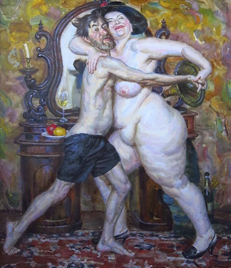 """Виктор Ляпкало (Victor Lyapcalo), """"Танго """"Брызги шампанского"""""""""""