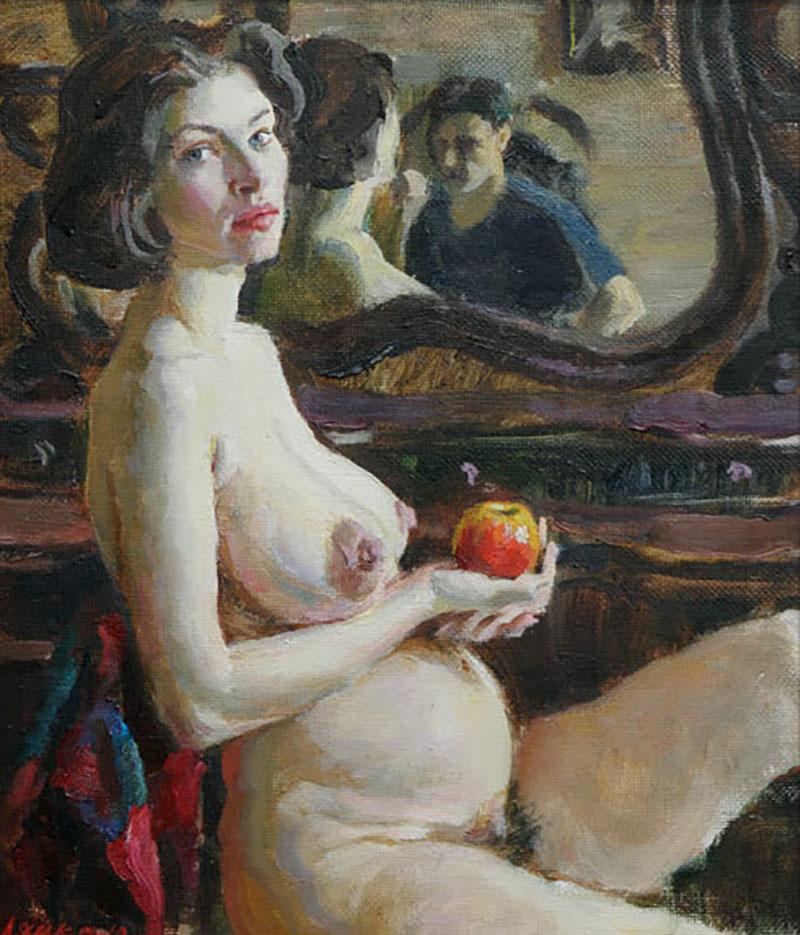 Портреты порно баб