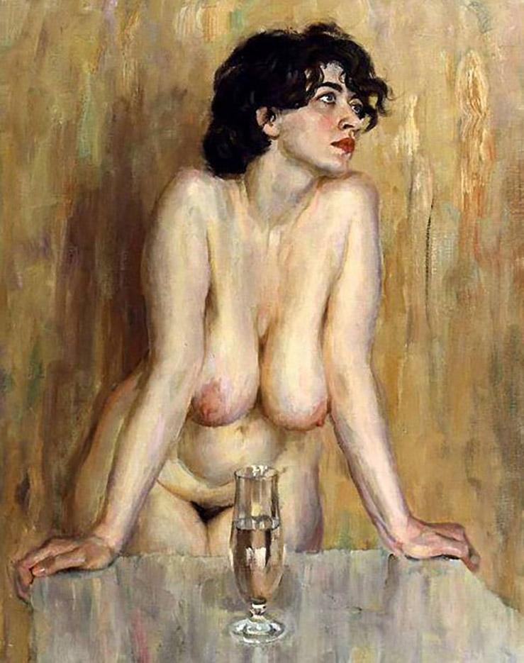 "Виктор Ляпкало (Victor Lyapcalo), ""A Goblet of Wine"""