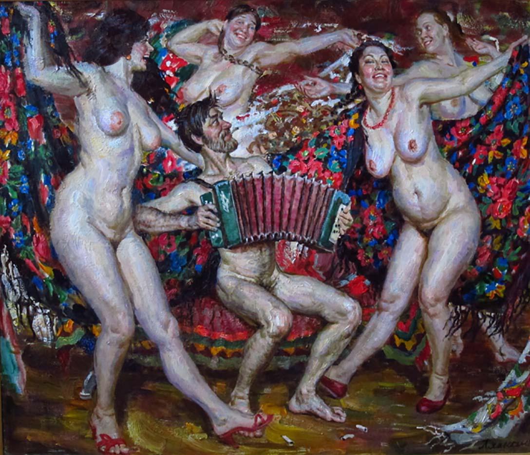 """Виктор Ляпкало (Victor Lyapcalo), """"Танец"""""""
