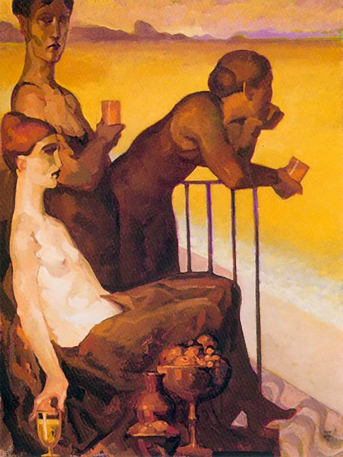"Хуарес Мачадо (Juarez Machado), ""Jeune Etrangere Et Camelo"""