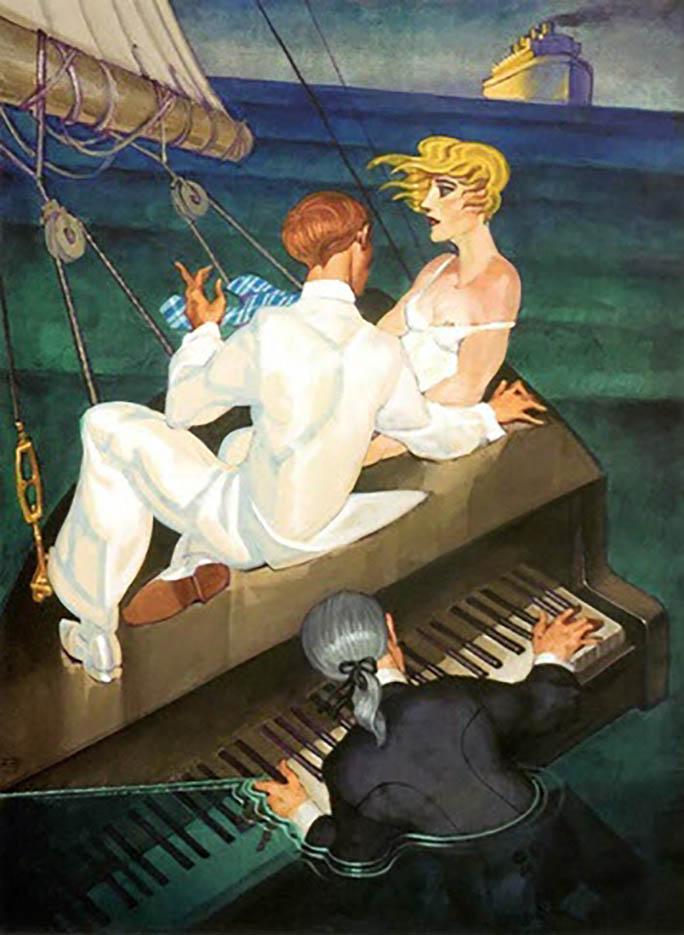"Хуарес Мачадо (Juarez Machado), ""O Pianista, Mister Titanic"""
