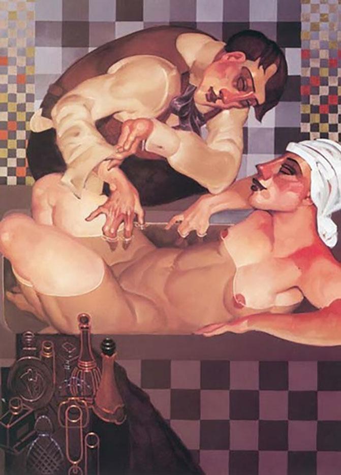 "Хуарес Мачадо (Juarez Machado), ""Bain art deco"""