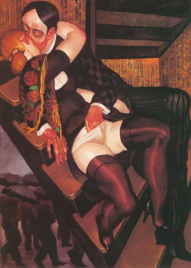 "Хуарес Мачадо (Juarez Machado), ""Le baiser (Rodin-bis)"""