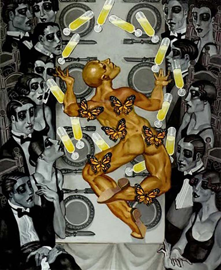 "Хуарес Мачадо (Juarez Machado), ""Les ailes d'un artiste normal"""