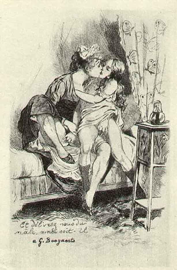 "Мартин ван Маеле (Martin van Maële) ""Эротический арт - 36 | Erotic art - 36"""