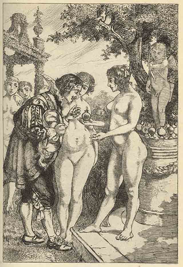 "Мартин ван Маеле (Martin van Maële) ""Эротический арт - 40 | Erotic art - 40"""