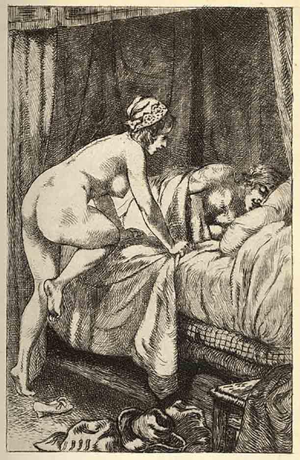 "Мартин ван Маеле (Martin van Maële) ""Эротический арт - 41 | Erotic art - 41"""