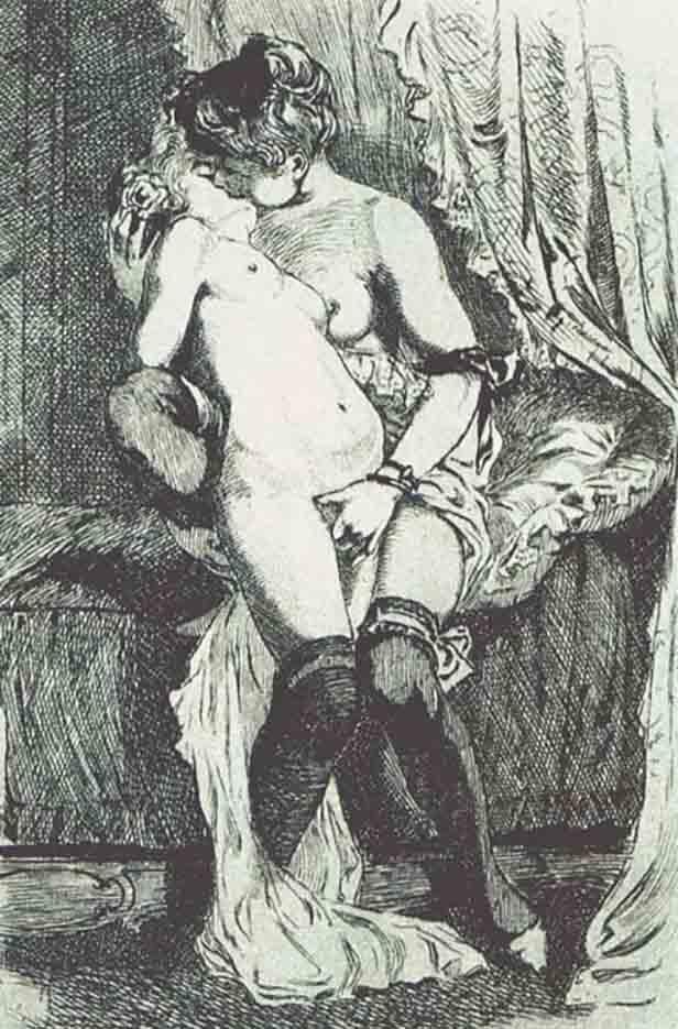 "Мартин ван Маеле (Martin van Maële) ""Эротический арт - 54 | Erotic art - 54"""