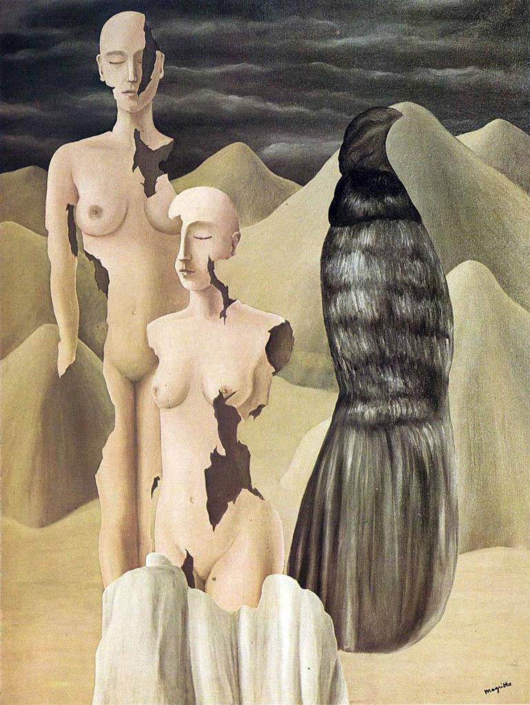 """Рене Магритт (Rene Magritte), """"Polar light"""""""