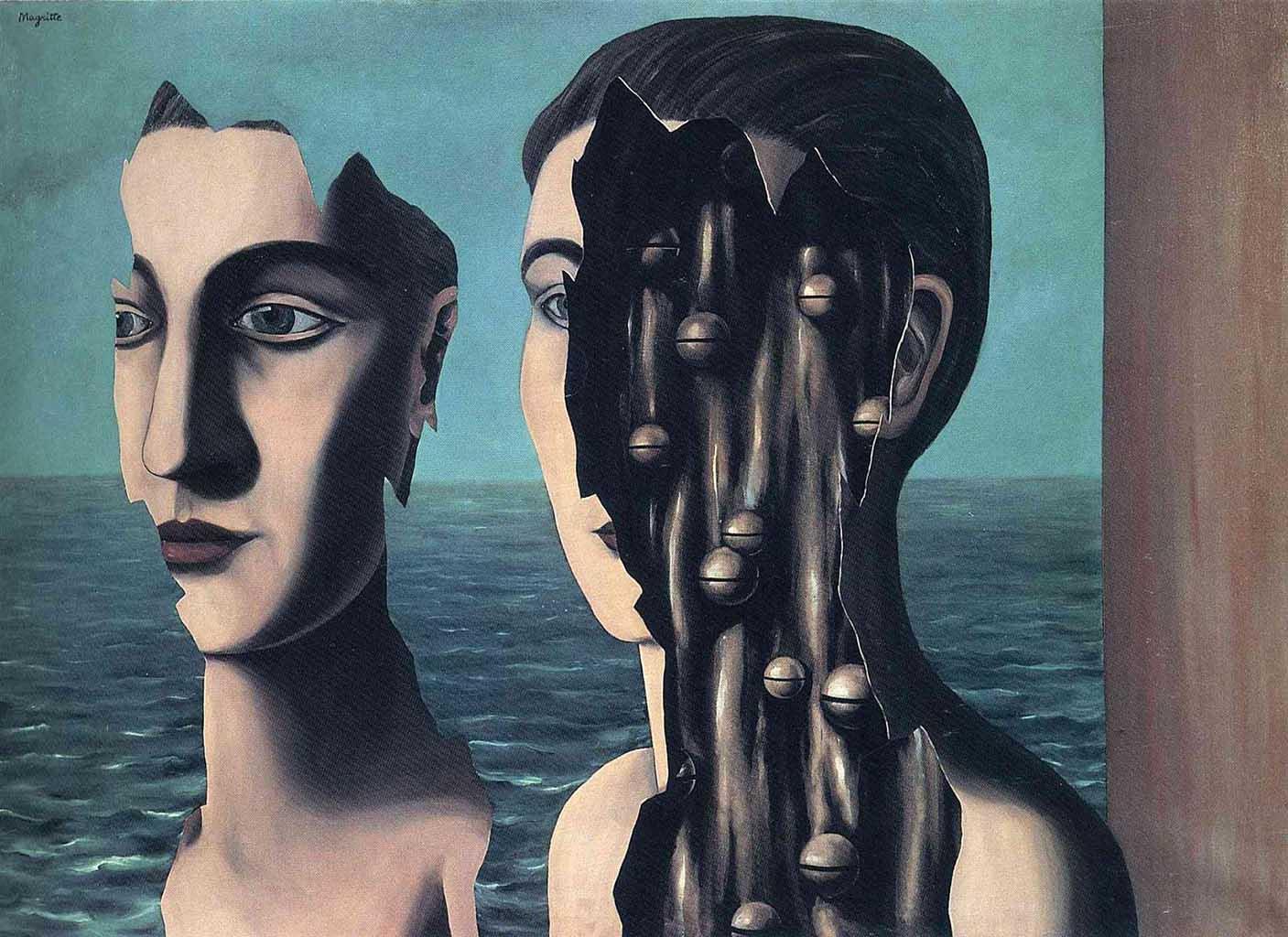 """Рене Магритт (Rene Magritte), """"The double secret"""""""