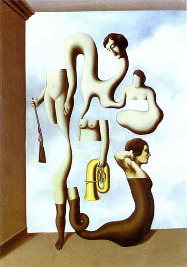 "Рене Магритт (Rene Magritte), ""The Acrobat's Exercises"""
