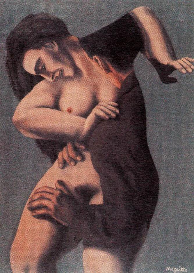 "Рене Магритт (Rene Magritte), ""The titanic days"""