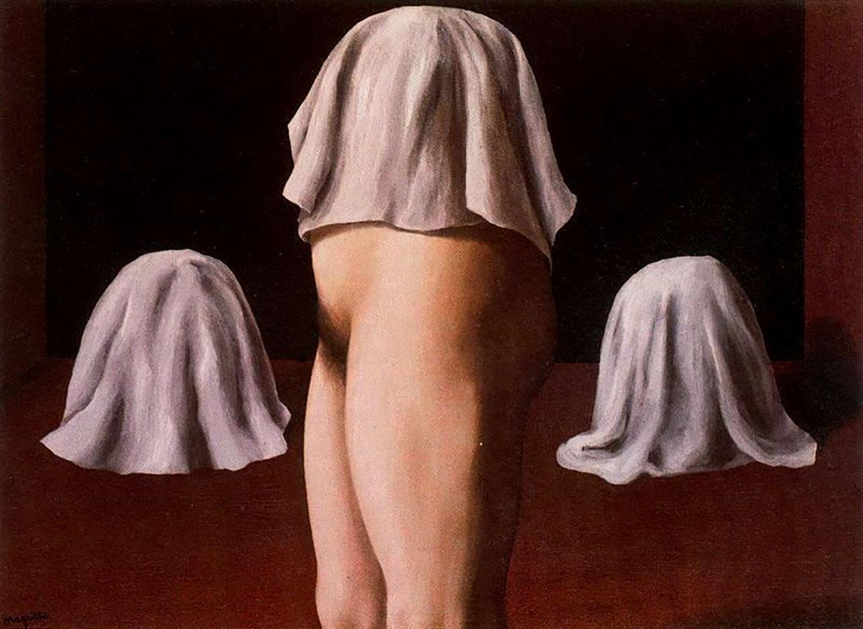 """Рене Магритт (Rene Magritte), """"Симметричный фокус"""""""