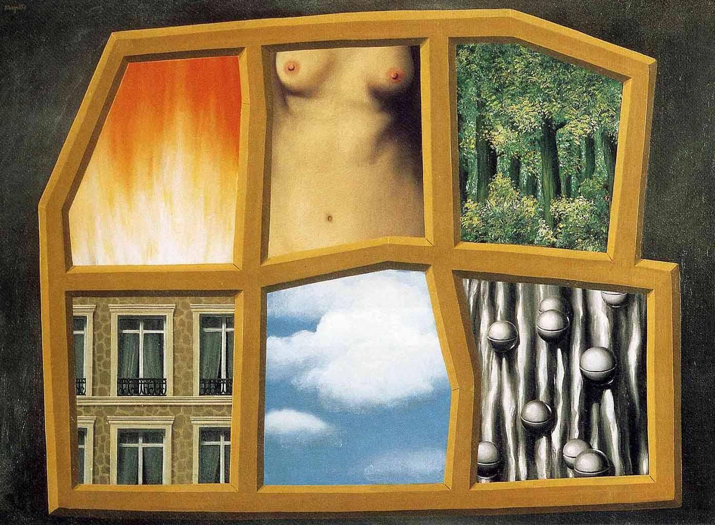"""Рене Магритт (Rene Magritte), """"Шесть элементов"""""""