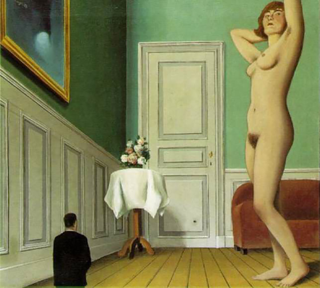 "Рене Магритт (Rene Magritte), ""The giantess"""