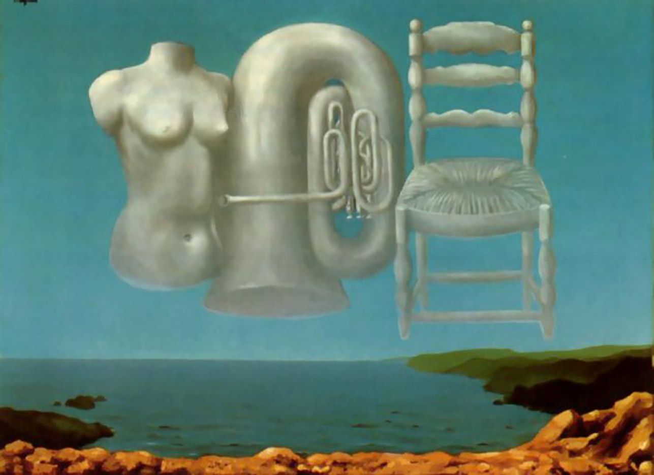 "Рене Магритт (Rene Magritte), ""Threatening Weather"""