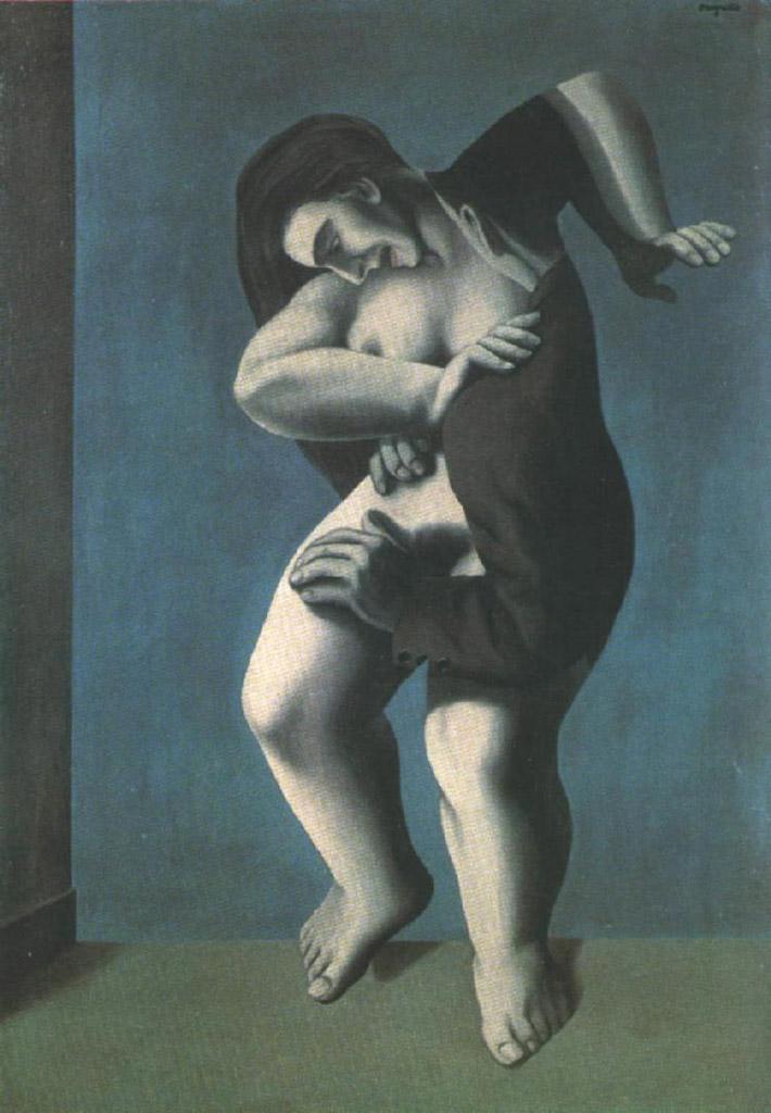 "Рене Магритт (Rene Magritte), ""The titanic days (2)"""
