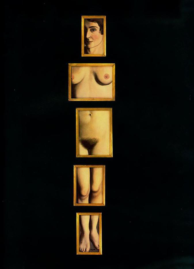 """Рене Магритт (Rene Magritte), """"The Eternal Evidence"""""""