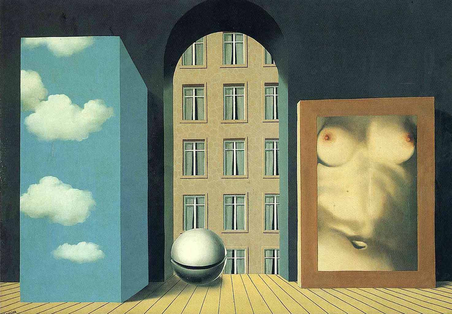 "Рене Магритт (Rene Magritte), ""Act of violence"""