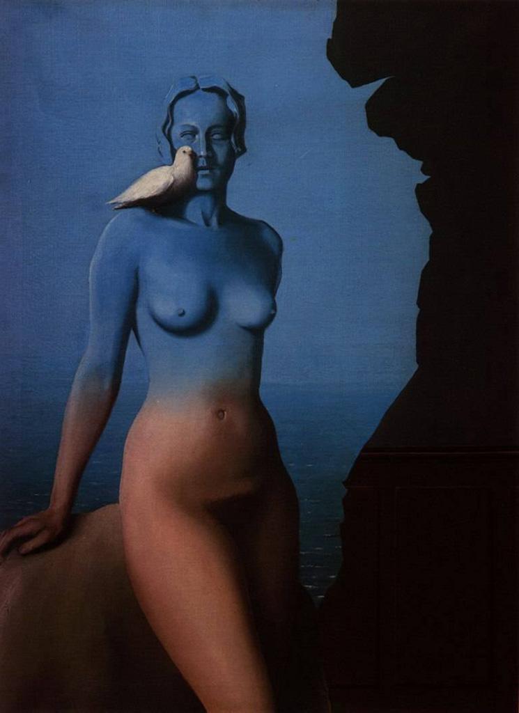 """Рене Магритт (Rene Magritte), """"Чёрная магия"""""""