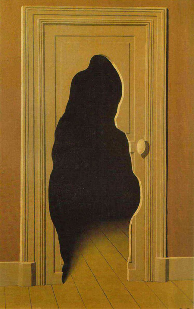 "Рене Магритт (Rene Magritte), ""Unexpected answer"""