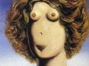 """Рене Магритт (Rene Magritte), """"Rape (2)"""""""